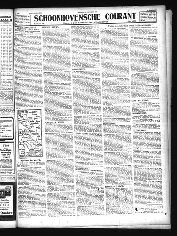 Schoonhovensche Courant 1943-11-23