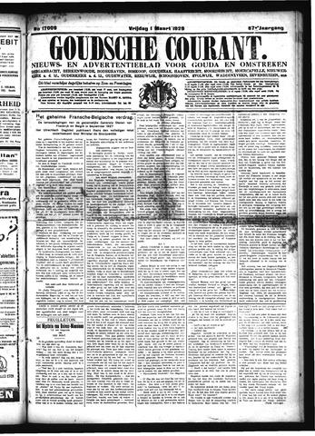 Goudsche Courant 1929-03-01