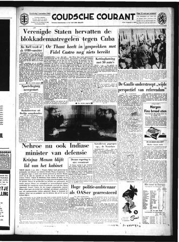 Goudsche Courant 1962-11-01