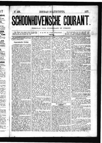 Schoonhovensche Courant 1877-08-26