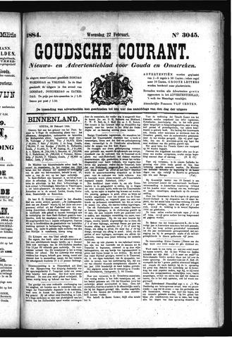 Goudsche Courant 1884-02-27