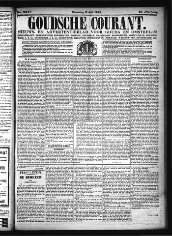 Goudsche Courant 1922-07-11