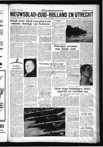 Schoonhovensche Courant 1961-11-08