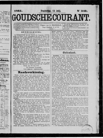 Goudsche Courant 1865-07-13