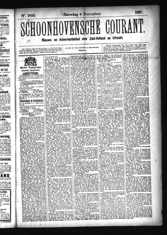 Schoonhovensche Courant 1897-11-06