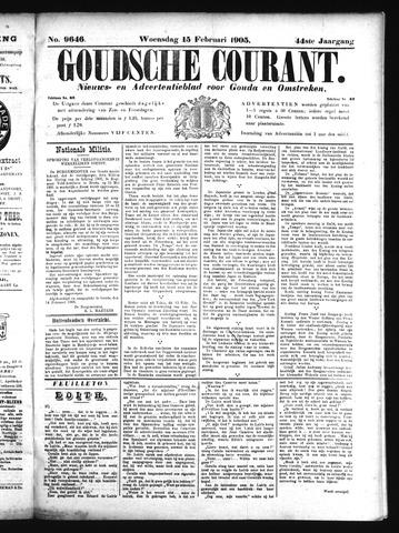 Goudsche Courant 1905-02-15