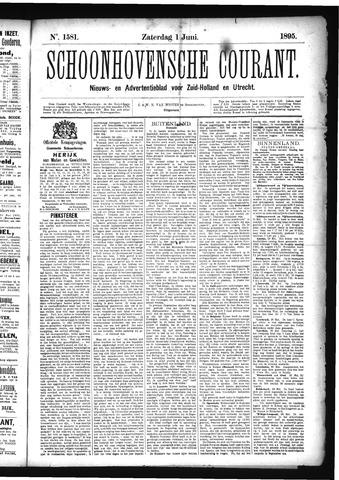 Schoonhovensche Courant 1895-06-01