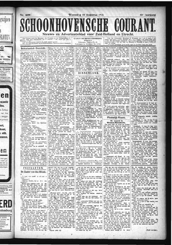 Schoonhovensche Courant 1923-08-15