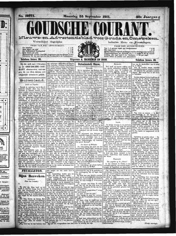 Goudsche Courant 1911-09-25
