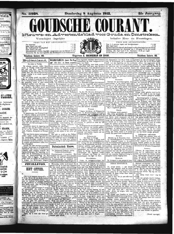 Goudsche Courant 1912-08-08