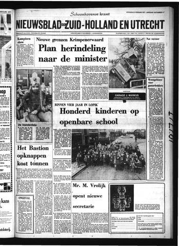 Schoonhovensche Courant 1977-02-09