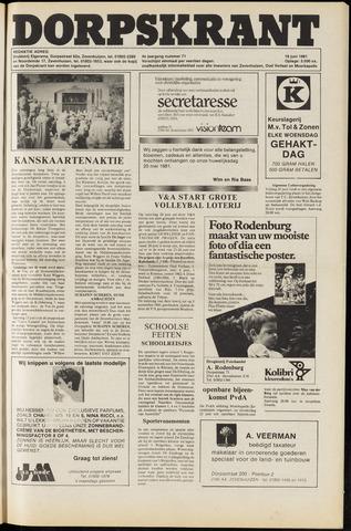 Dorpskrant 1981-06-19
