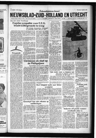 Schoonhovensche Courant 1961-08-02
