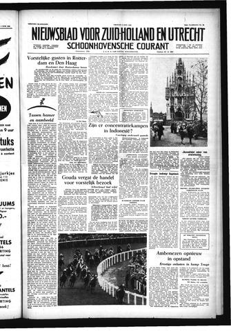 Schoonhovensche Courant 1956-06-08