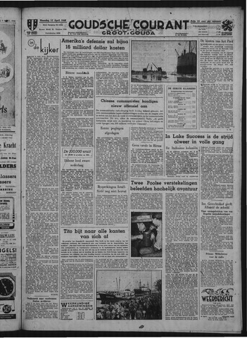 Goudsche Courant 1949-04-11