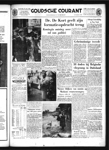 Goudsche Courant 1963-06-27