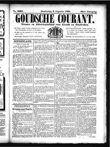 Goudsche Courant 1894-08-09