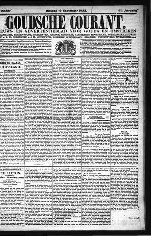 Goudsche Courant 1922-09-19