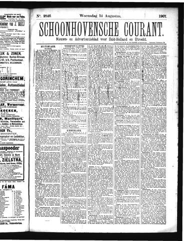 Schoonhovensche Courant 1907-08-14