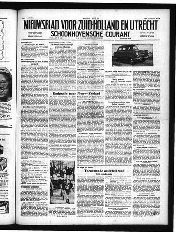 Schoonhovensche Courant 1951-03-05