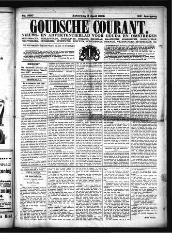 Goudsche Courant 1926-04-03