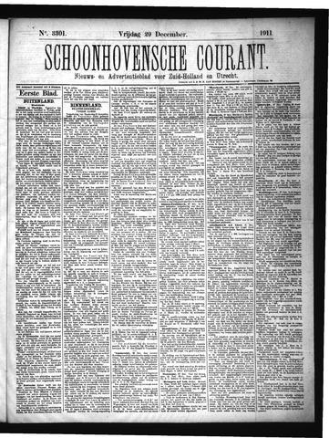 Schoonhovensche Courant 1911-12-29