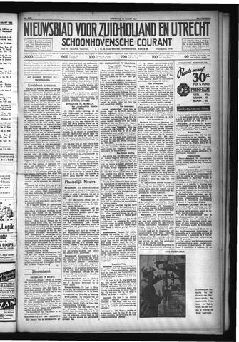 Schoonhovensche Courant 1932-03-30