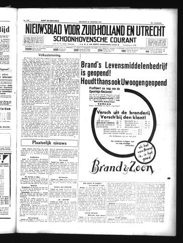 Schoonhovensche Courant 1934-08-20