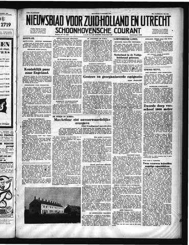 Schoonhovensche Courant 1950-10-02