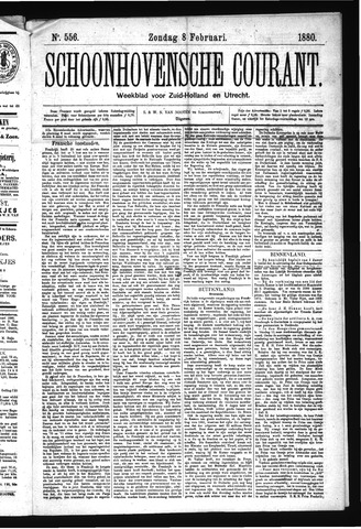 Schoonhovensche Courant 1880-02-08