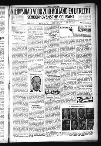 Schoonhovensche Courant 1932-01-29