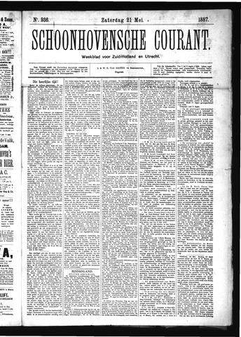Schoonhovensche Courant 1887-05-21