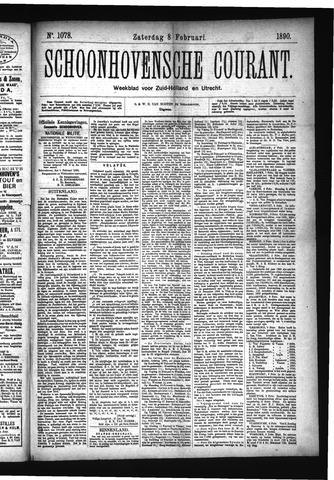 Schoonhovensche Courant 1890-02-08