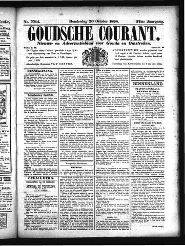 Goudsche Courant 1898-10-20