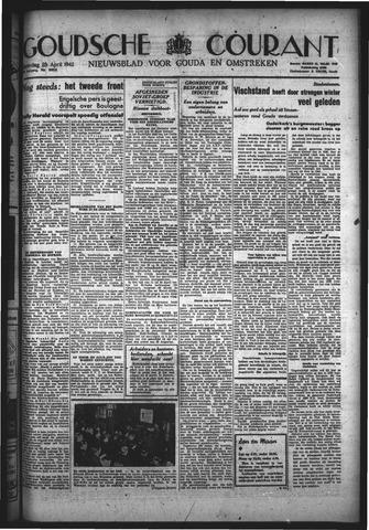 Goudsche Courant 1942-04-25