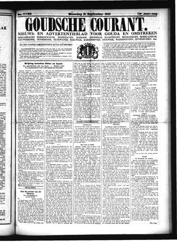 Goudsche Courant 1931-09-21