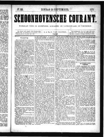 Schoonhovensche Courant 1873-09-28