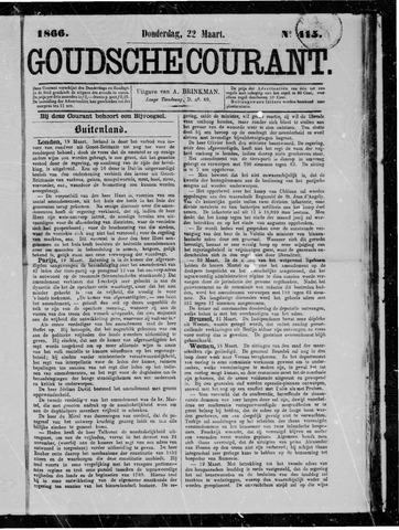 Goudsche Courant 1866-03-22