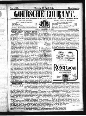 Goudsche Courant 1912-04-29