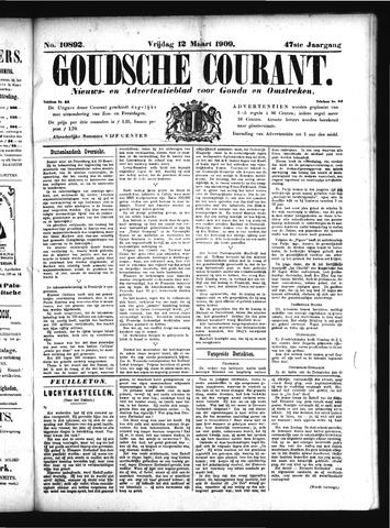 Goudsche Courant 1909-03-12