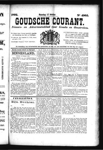 Goudsche Courant 1892-10-17