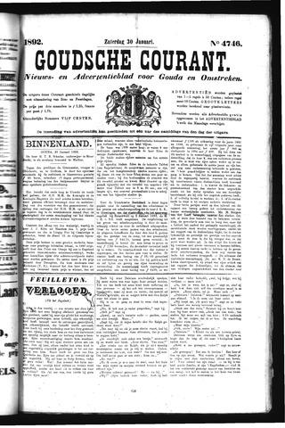 Goudsche Courant 1892-01-30