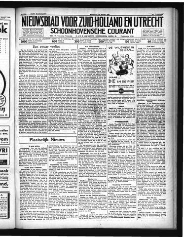 Schoonhovensche Courant 1935-03-25