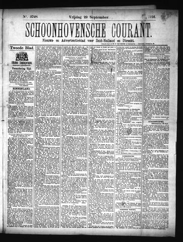 Schoonhovensche Courant 1916-09-29