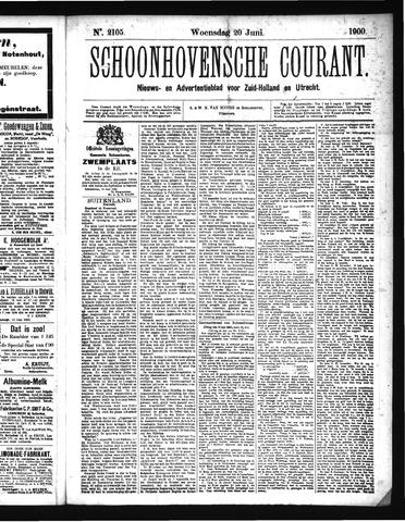 Schoonhovensche Courant 1900-06-20