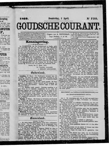Goudsche Courant 1869-04-01