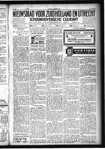 Schoonhovensche Courant 1929-11-08