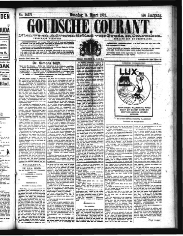 Goudsche Courant 1921-03-14
