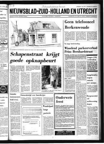 Schoonhovensche Courant 1976-07-07