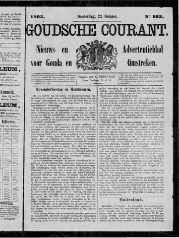Goudsche Courant 1863-10-22